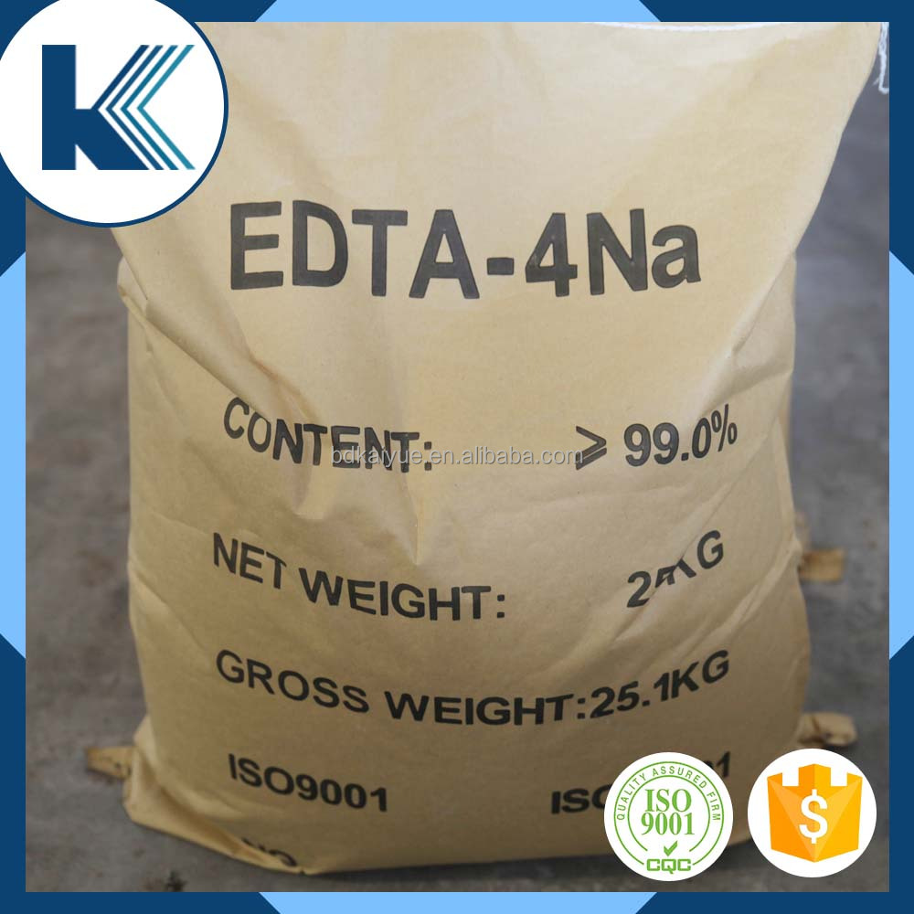 Industrial grade Ethylene diamine tetraacetic acid tetrasodium salt edta 4na salt