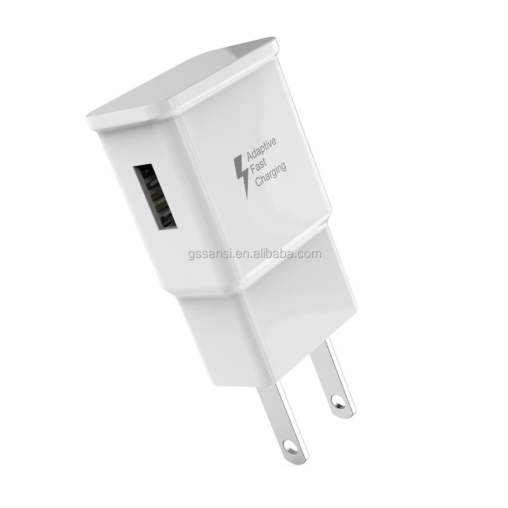 Cepat Dinding Travel Charger untuk Samsung USB Charger Adapter