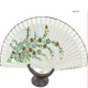 lace hand fan,men's hand fan,folding hand fan frame