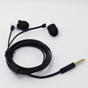 Plastic earphones from china factory, cheap plastic covers for earphone with flat wire