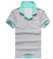 cool style collar and hem custom made embroidery promotion new model t shirts polo shirt