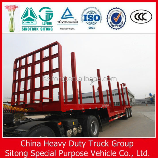 China Factory Supplier 3 Axle Atv Timber Transport Trailer,Log ...