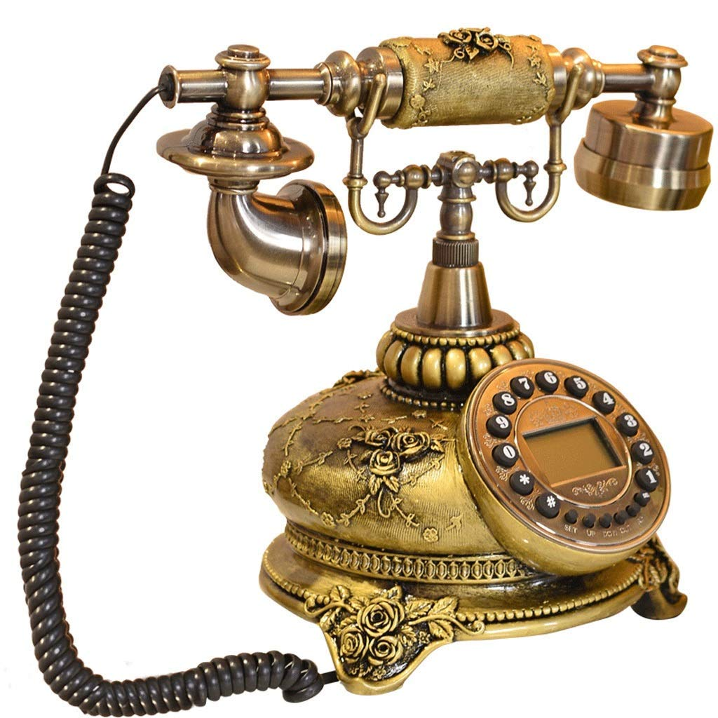 CHX Telephone antique American style high-end creative metal retro European style phone landline CHXV