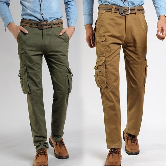 Mens Cargo Trousers Once it's gone, it's gone We've got great deals on our entire range of mens cargo trousers, from top brand names such as Regatta and Caterpillar.