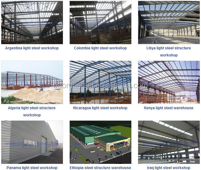 steel structure workshop warehouse building design manufacture and installation
