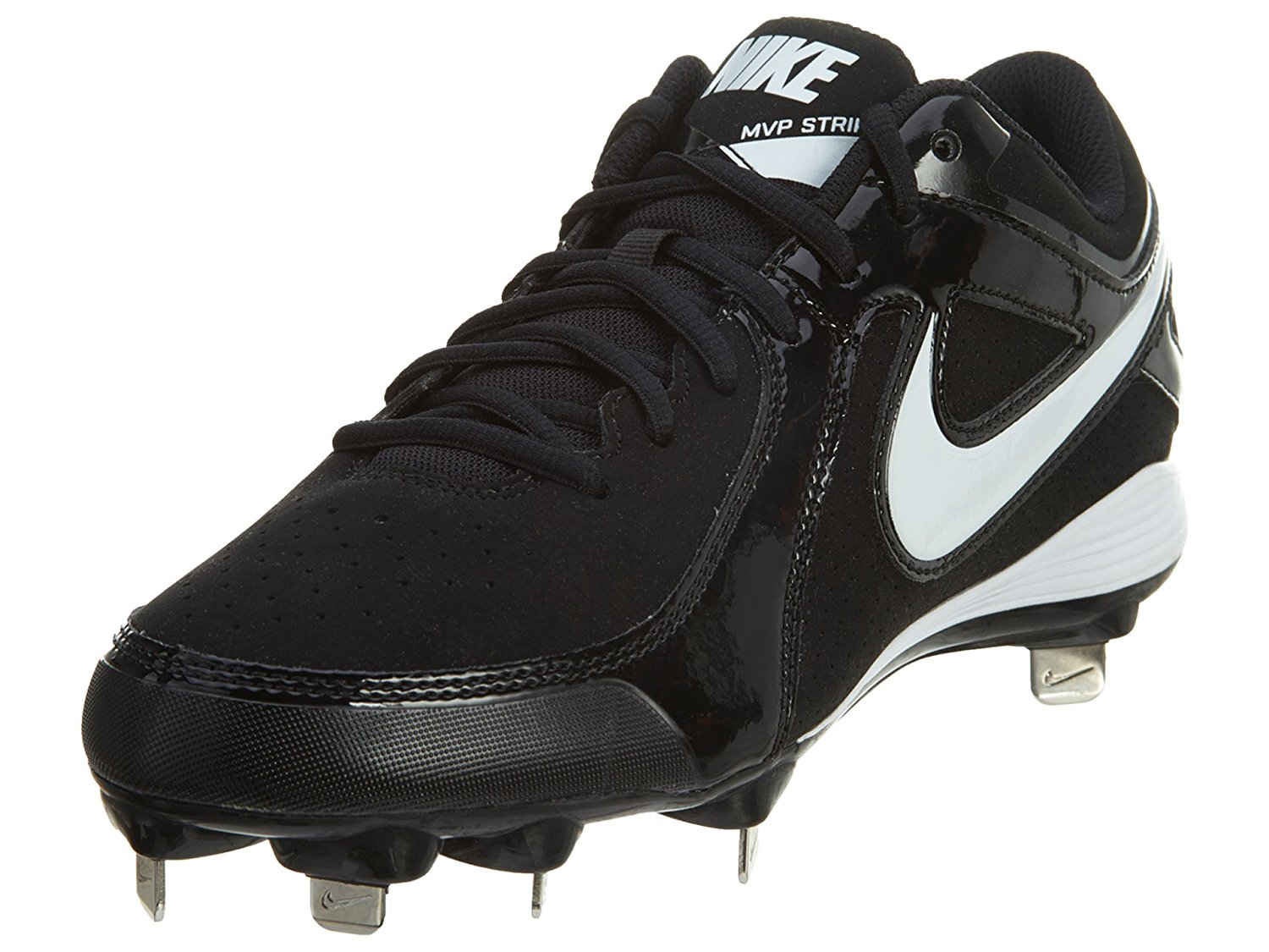 ec3b22254 Buy Nike Mens Swingman MVP 2 MD Metal Stud Black Baseball Cleats in ...