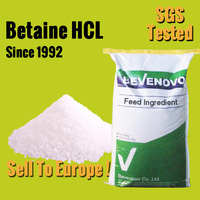 Offer Animal Feed Additives Betaine Hydrochloride 98% For Poultry Fish Livestock