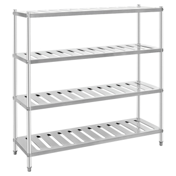 Canteen Equipment Stainless Steel Storage Rack Shelf For Hotel Kitchen -  Buy Canteen Storage Rack,Stainless Steel Shelf,Kitchen Shelf Product on ...