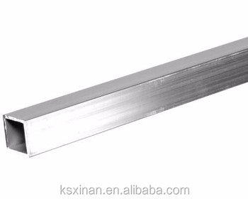 China Factory Durable Hollow Rectangular Aluminum 7075 Tube