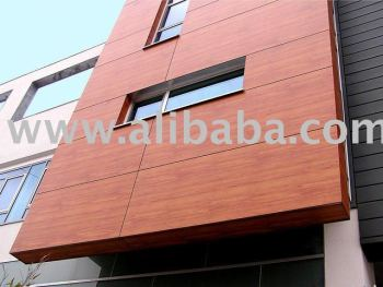 Exterior wood wall cladding buy external wood wall cladding product on for Wooden cladding for exterior walls