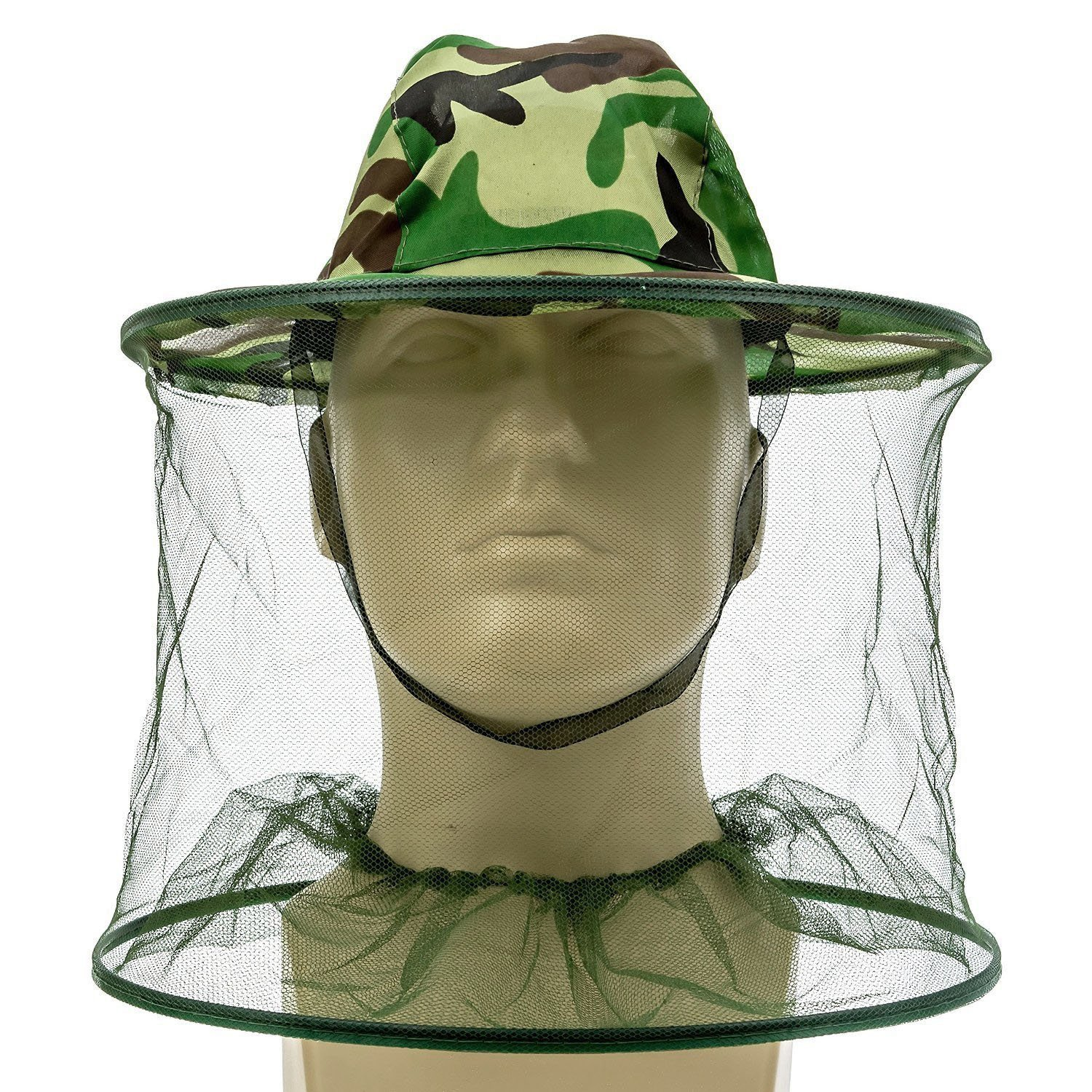 bb5f4f4d2 Buy Skydume Outdoor Anti-mosquito Bees Mask Hat with Head Net Mesh ...