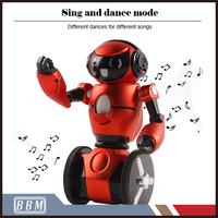 2.4G Musical Intelligent Balance RC Dancing Robot with Light