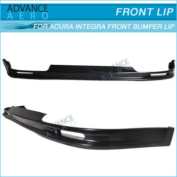 FOR ACURA INTEGRA 92 93 MUG STYLE PU FRONT LIP ACCESSORIES
