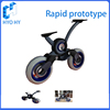 small bicycle rapid prototype model plastic prototype machining