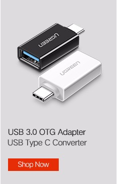 Ugreen USB Type C Cable for Samsung Galaxy S9 USB Cable to Type C Fast Charging Data Cable for Xiaomi Mi6 Nintendo Switch USB-C 5