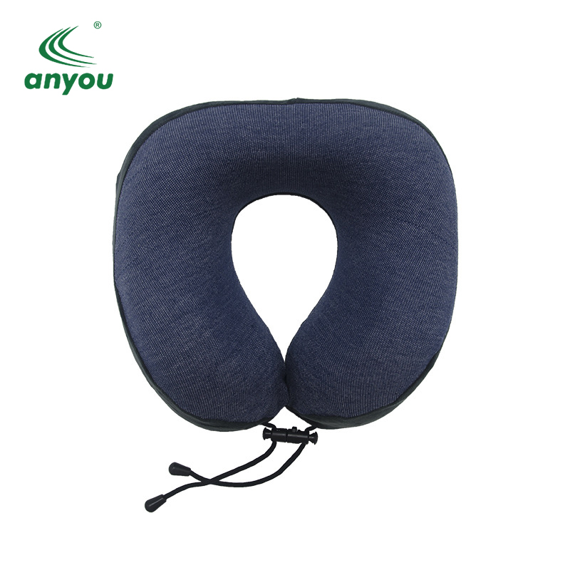 Travel Rest Neck Relaxation Memory Foam U Shape Neck Pillow