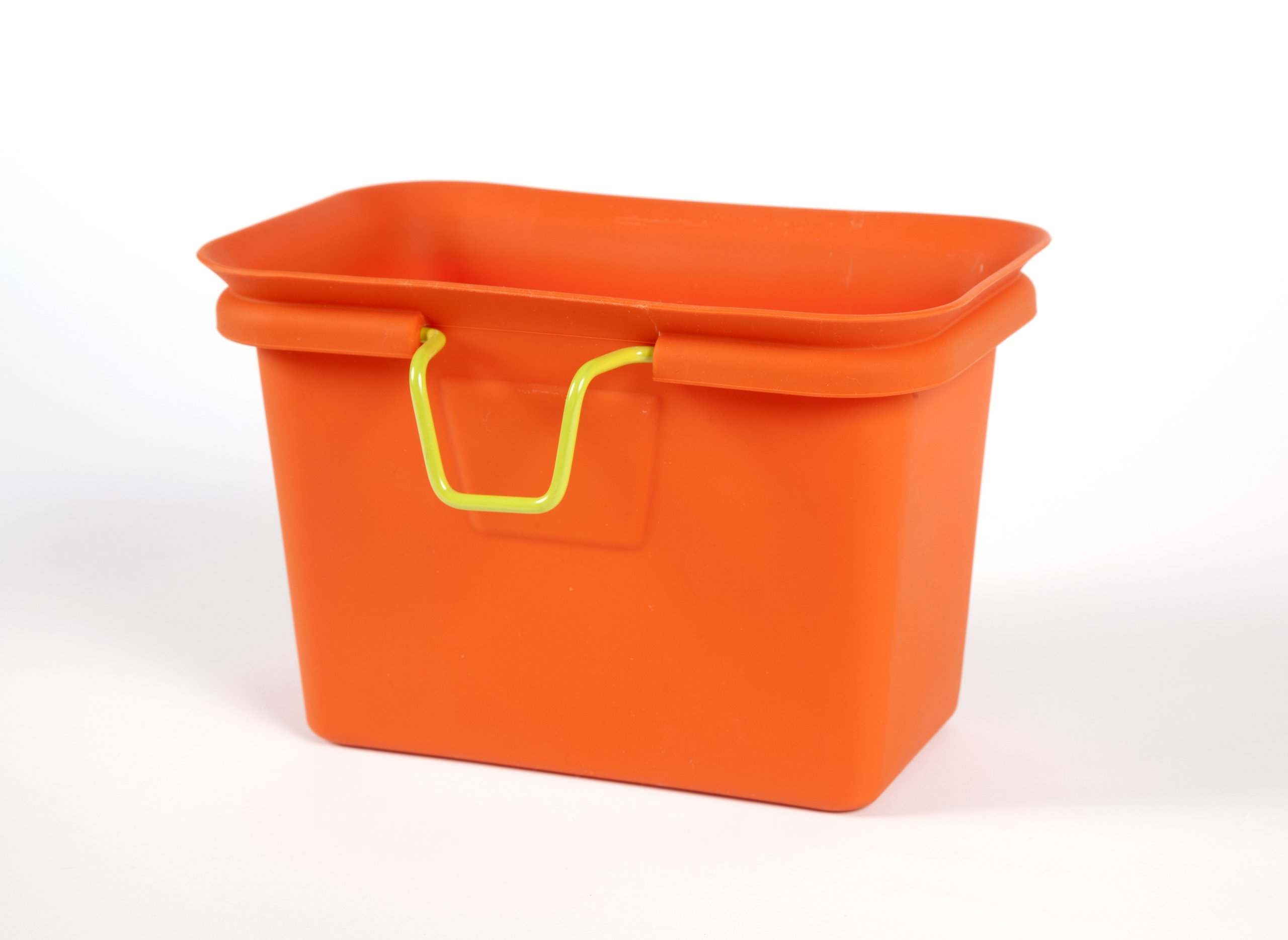 Full Circle Scrap Happy scrap collector and freezer compost bin, Orange