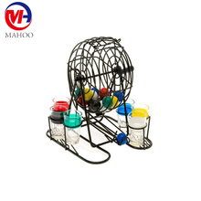 Bingo Balls for Small Cages/ 6 glass luck bingo shot / drinking game