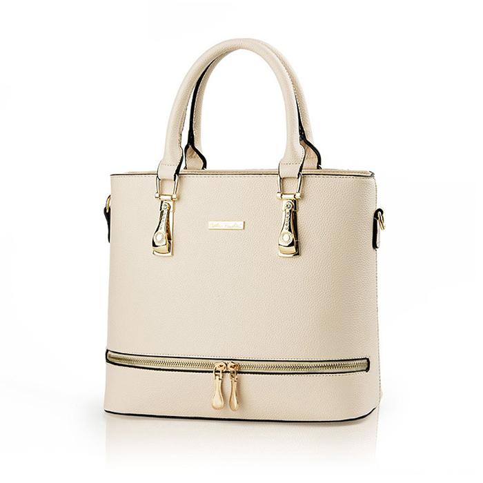 Alibaba China Supplier High End Handbag Hardware Pu Leather Bag Women Product On