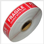 "FRAGILE Sticker Handle With Care Shipping Labels-Self-Adhesive stickers (500 (1"" x 3""))"