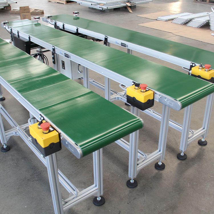 modular plastic flexible chain conveyor belt / top chain conveyor for Beverage Manufacture