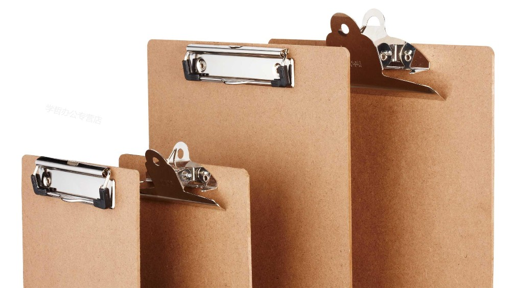 Cb003 A4 Paper Wood Clipboard For Office Stationery