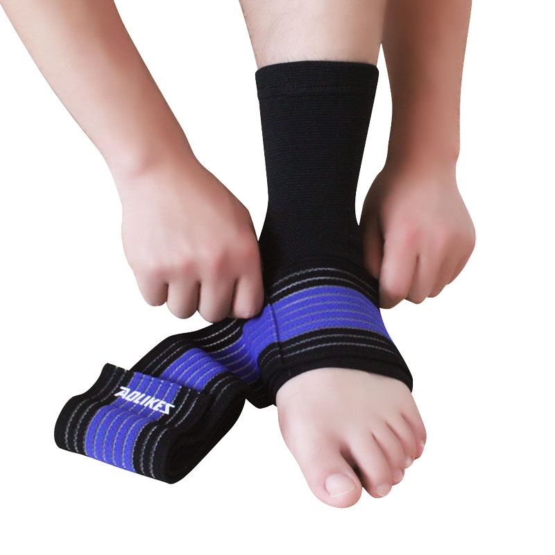 aolikes adjusthable elásticos ankle foot brace manga de apoio