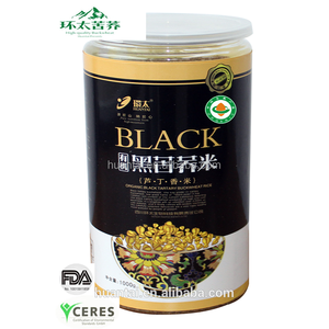 600g China SiChuan Liangshan black tartary buckwheat rice coarse cereals roughage