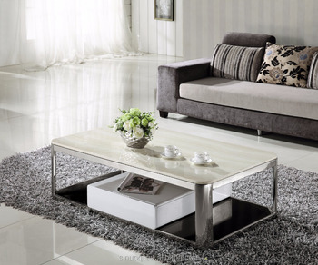 Best brand siqinuo marble coffee table modern design tea for Teapoy table designs