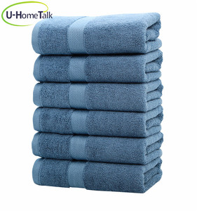 U-HomeTalk UT-FJ016 Soft High Quality Baby Organic 100% Bamboo Fabric 34*34cm Baby Hand Face Towel Low Price In Stock