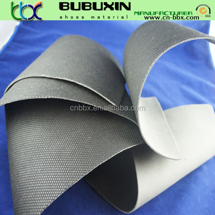 shoes lining Nylon Camberelle with eva foam sheet for safety shoes