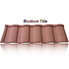 decorative colorful roof shingle, fireproof roof tile sandwich panel
