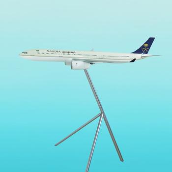 A330-300 Saudi Arabian Airbus Scale Model Scale 1/50 Customer Plane Models  - Buy Customer Resin Plane Models,Promtional Model,Airbus A330 Model