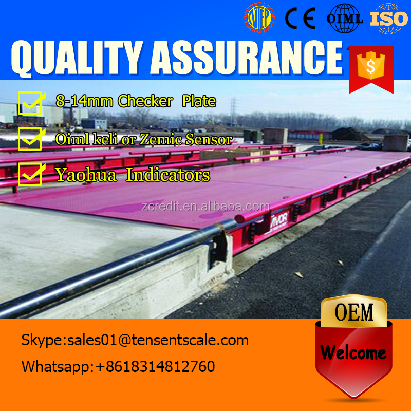 50 ton load cell cement truck scale weighbridge