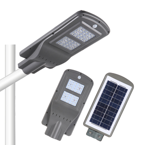 New product 10 12 15 20 40 w IP65 waterproof outdoor all in one outdoor led light solar street