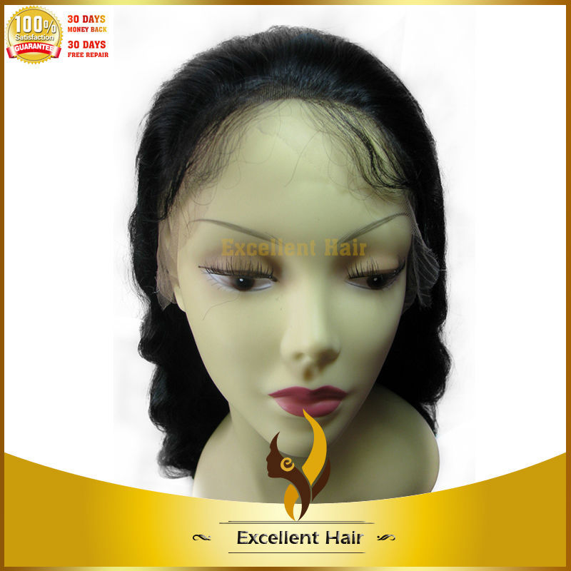 SILKY STRAIGHT YELLOW STOCK PRODUCT 120%DENSITY NATURAL BLACK 22INCH EXTRA LONG CHINESE HAIR REMY LACE FRONT WIGS