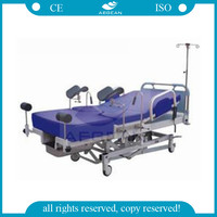 AG-C101A02 CE ISO female electric hospital birthing obstetric delivery table