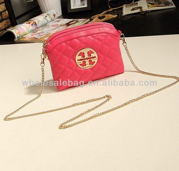 e7e2a34de1 Korean Quilted Long Chain Bag Cheap Double Zipper Sling Bag Nice Small Bag  Quilted For Ladies