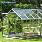 Aluminum Frame Polycarbonate Sheet One Step Garden Greenhouse