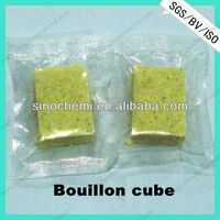 Good food additives curry bouillon cubes in meal