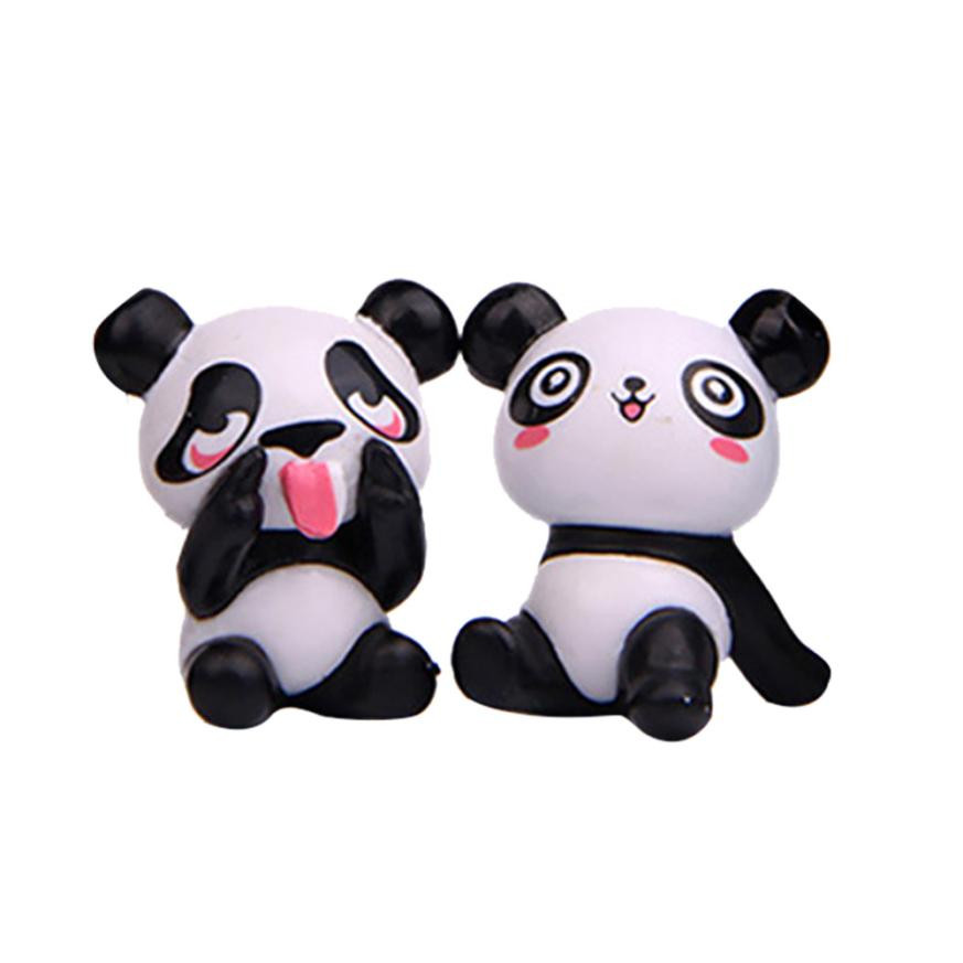 1pc Cute Soft Plush Panda Fridge Magnet Refrigerator Sticker Cartoons Decal Gift Souvenir Home Decor Kitchen Accessories New Jade White Fridge Magnets