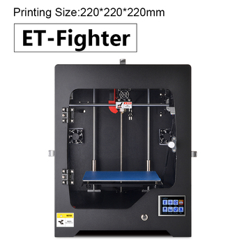 3D Printer Model ET-Fighter Printing Size 220x220x220mm Wifi
