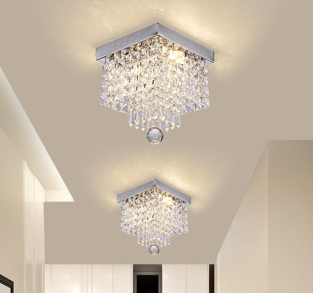Romantic Wedding Ceiling Decoration Modern Lighting Chandelier Luxury Crystal Ceiling Hanging Light Luxury