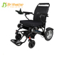 Easy foldable aluminum alloy electric wheelchair malaysia price with PU solid tire