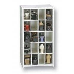 Shoe Cubby Cabinet 20 Spaces Without Doors