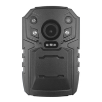 new arrival Ambarella A12LA55 4G body worn camera built-in Infrared night vision 1296P HD special for for military security