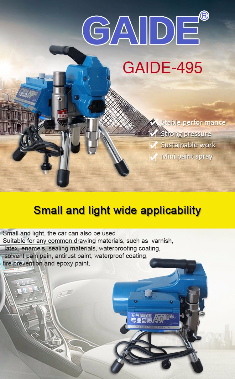 Wholesale Chinese supply best airless sprayer for latex paint ...