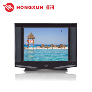Good quality nice design brand new 21 inch CRT TV with Solution