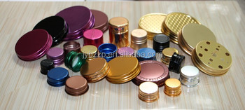 aluminum threaded caps cosmetics,aluminum caps for pharmaceutical/oral liquid vial