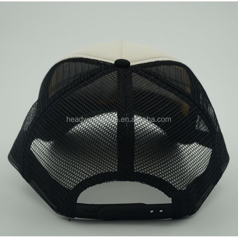 Esponja camionero gorra de béisbol estilo 3D parche bordado casquillo del  deporte de malla 9c1bd4f9a40